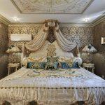 Роскошная спальня для шикарного дома