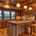 Самодельная кухня в стиле рустик