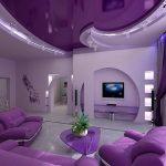 Шикарная гостиная в современном стиле