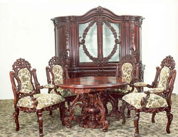 Шикарная итальянская мебель в стиле барокко