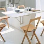Складные стулья в интерьере