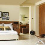 Спальня в оттенках миланского ореха