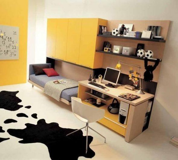 Стильная комната подростка