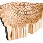 Стильный дизайнерский диван из картона