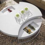 стол трансформер круглый
