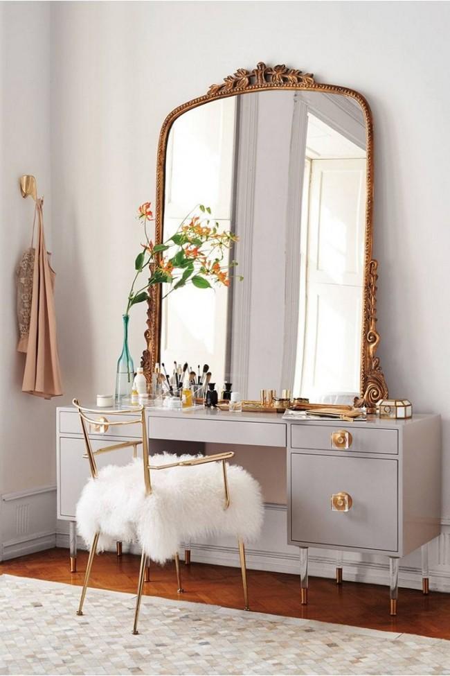 столик для макияжа интерьер