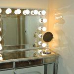 столик для макияжа подсветка