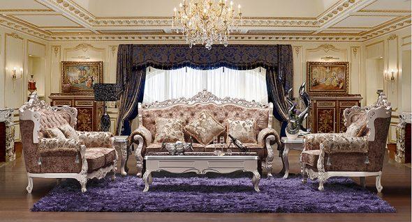 Оформление комнаты в стиле барокко