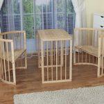 Удобная деревянная мебель для детей