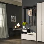 Удобный и функциональный вариант мебели в коридор