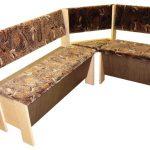 Угловой кухонный диван своими руками