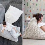 Уютные и удобные вязанные кресла
