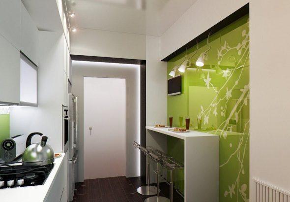 Барная стойка для маленькой кухни, как стильный и функциональный элемент декора