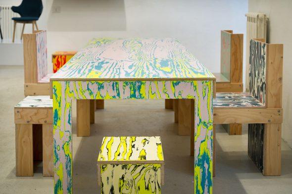 Крашеная мебель