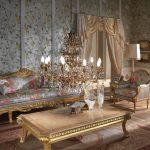 Журнальный столик в стиле барокко
