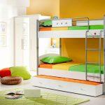 Детская двухъярусная кровать Cilek SL Active White
