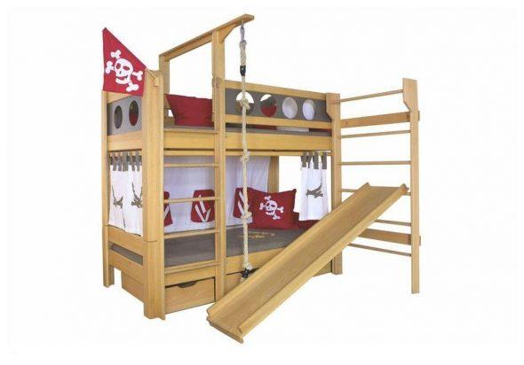 """Двухъярусная кровать """"Пират"""""""