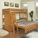 Двухъярусная кровать с двойным спальным местом для детей и взрослых