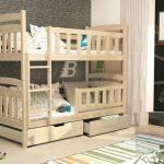 Двухъярусная кровать с высокими бортами