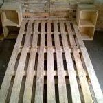 Каркас кровати, изготовленный своими руками