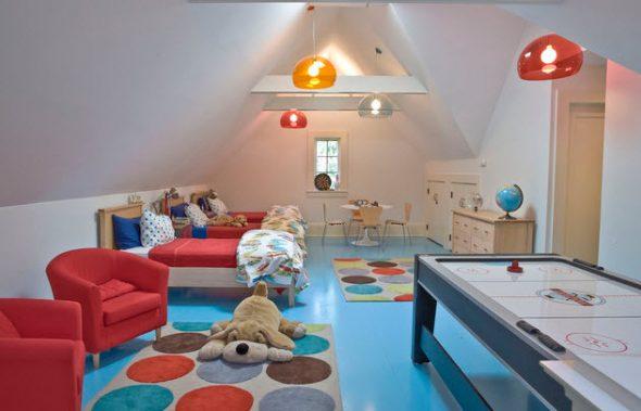 Красивая и функциональная детская комната