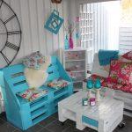 Красивая и функциональная мебель из паллет