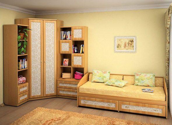 Кровать-диван для детской комнаты
