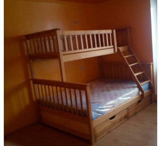 """Трехместная кровать """"Жасмин"""""""