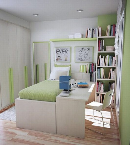 Маленькая, но удобная комната