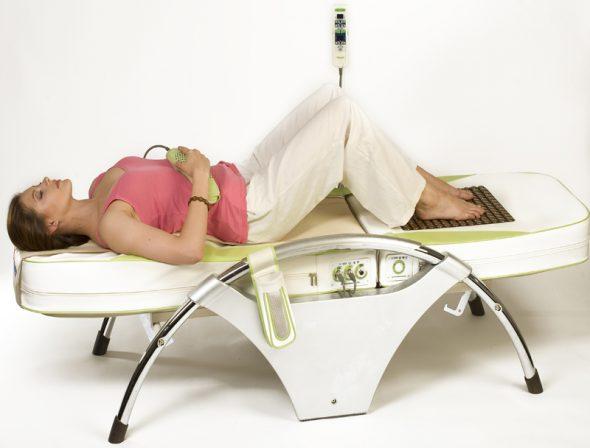 Массажная кровать Нуга-Бест при грыже