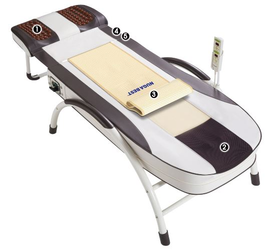 Массажная кровать Нуга Бест с регулировкой длины