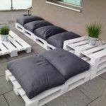 Мебель для улицы из поддонов