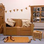 Мебель из коробок своими руками - модное увлечение