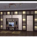 Мебельная стенка – перегородка делает из одной комнаты две