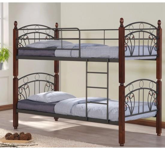 """Необычное оформление двухэтажной кровати """"Любава"""""""