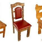 Несколько вариантов резных стульев