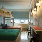 Оформление спальни для троих детей