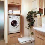 Полки над стиральной машинкой