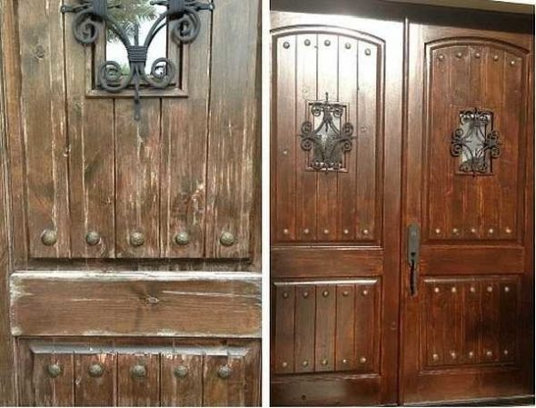 Восстановление структуры древесины