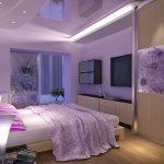 Расстановка мебели в спальне по фен шуй
