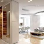Шкаф-перегородка для зонирования пространства