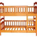 Симпатичная и компактная двухъярусная кровать