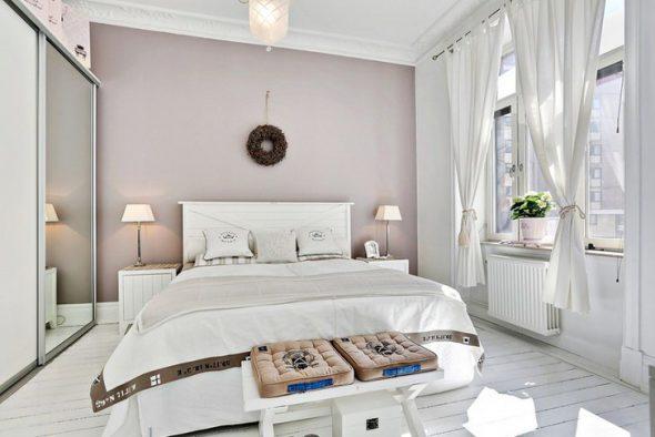 Современный и модный дизайн спальни
