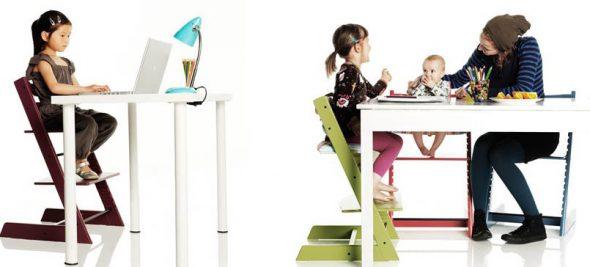 Удобный и функциональный растущий стул