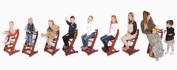 Универсальный стул для детей и взрослых