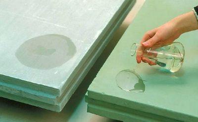 Влагостойкие гипсолитовые плиты