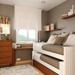 Выдвижная двухъярусная кровать для мальчиков-подростков