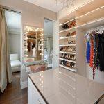 Зеркало с подсветкой для гардеробной