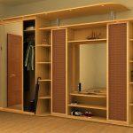 Большой шкаф купе для хранения одежды