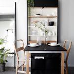 Качественное и простое крепление раскладного стола к стене